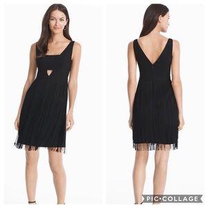 Aidan Mattox cocktail Black dress
